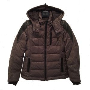 Down Filled Convertible Coat Danier Leather
